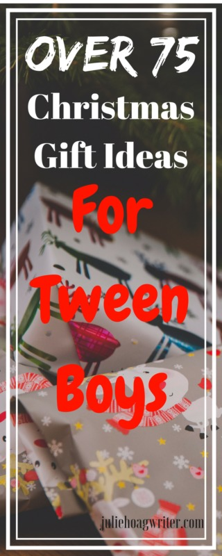 Over 75 Christmas Gift Ideas for Tween Boys