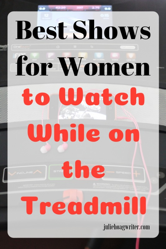 Best Shows for Women to watch while on the treadmill excercise tips. 28 shows to entertain women while exercising. Self-care tips for women. Women's workout, watch these shows to make your workout better and more enjoyable. Get healthy and grab some time for self-care, self-love.