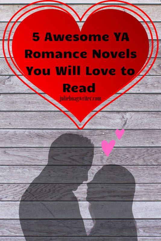 Five Awesome YA Romance Novels You Will Love to Read books for teen girls. Teen romance books. Summer reading list. Good teen romance books.