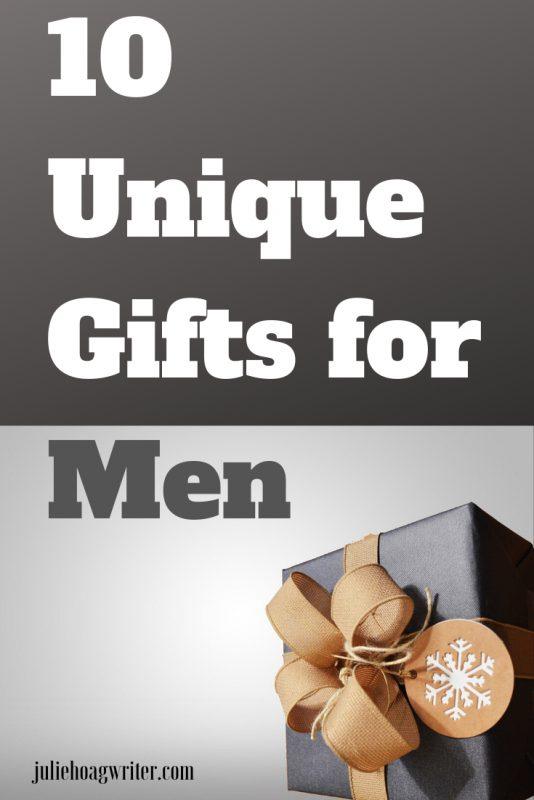 10 Unique Gifts for Men