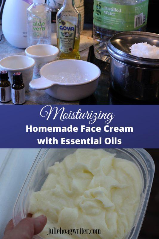 Homemade Face Cream with Essential Oils