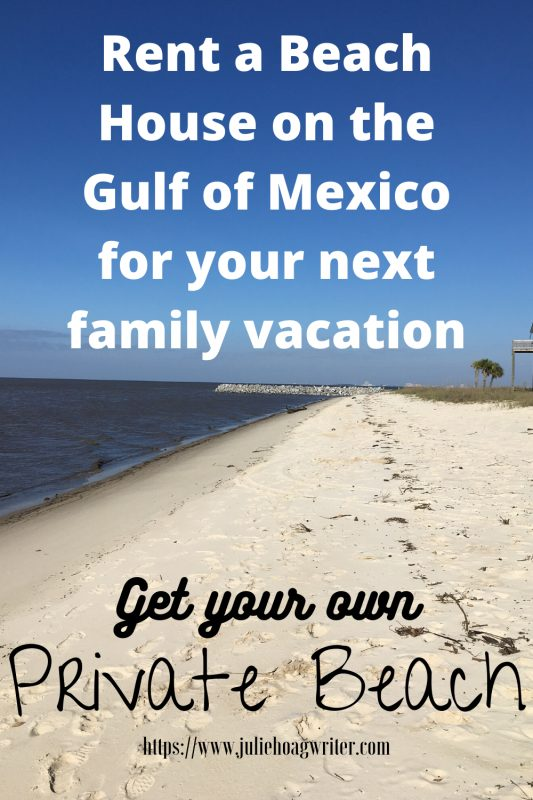 Rent a beach house on the Gulf of Mexico for your next family vacation