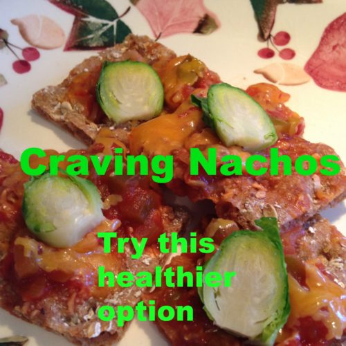 Quick Hybrid Vegetarian/Meat Nachos Appetizer