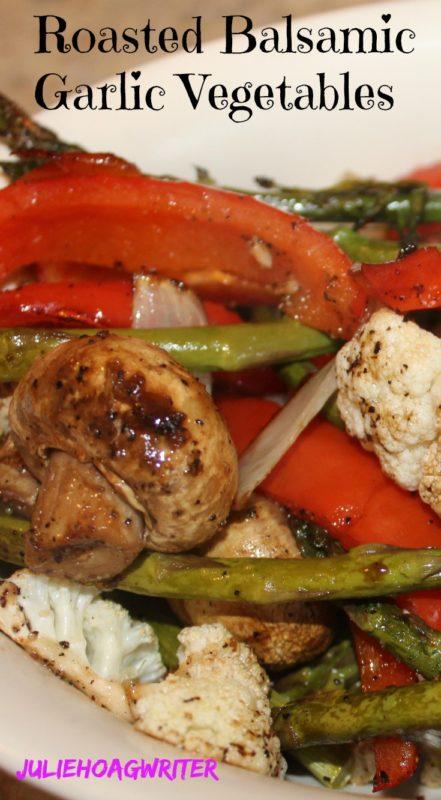 Roasted Balsamic Garlic Vegetables Vegetarian-recipe. vegan-recipe. Vegetable-side-dish. #vegetarianrecipe #healthyrecipe #healthysidedish #veggies