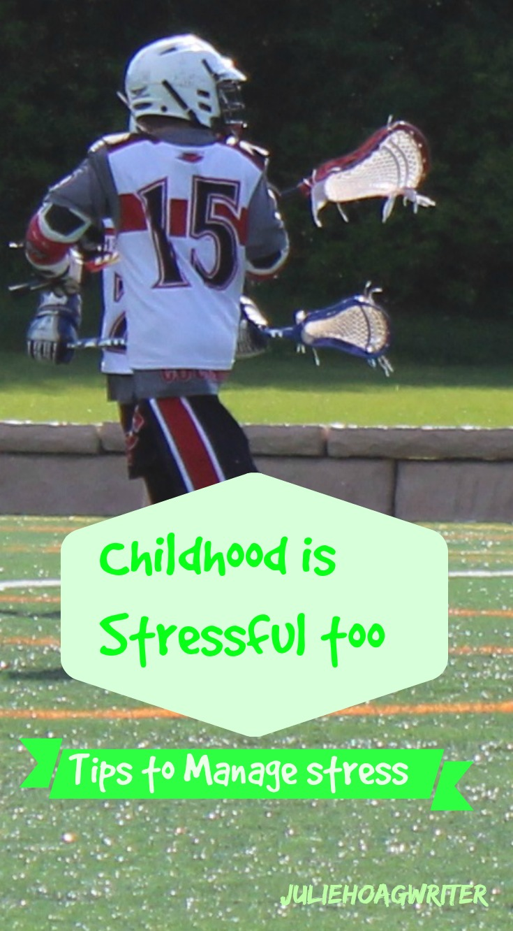 childhood is stressful too tips to manage stress