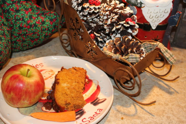 Santa and reindder treats with Reindeer Loaf