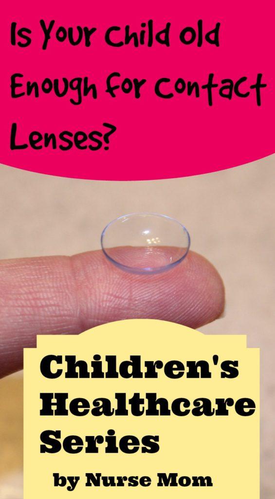 child contact lense