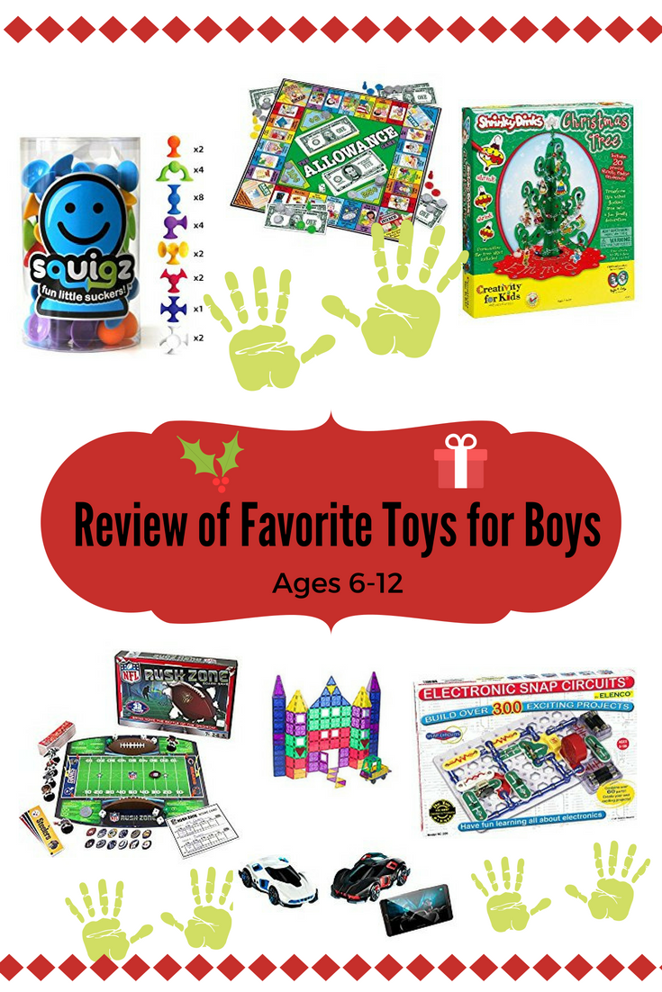 Review of favorite toys for boys pictures of the toys