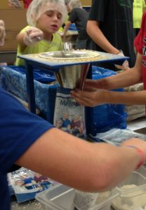 Kids can help feed the starving people around the world