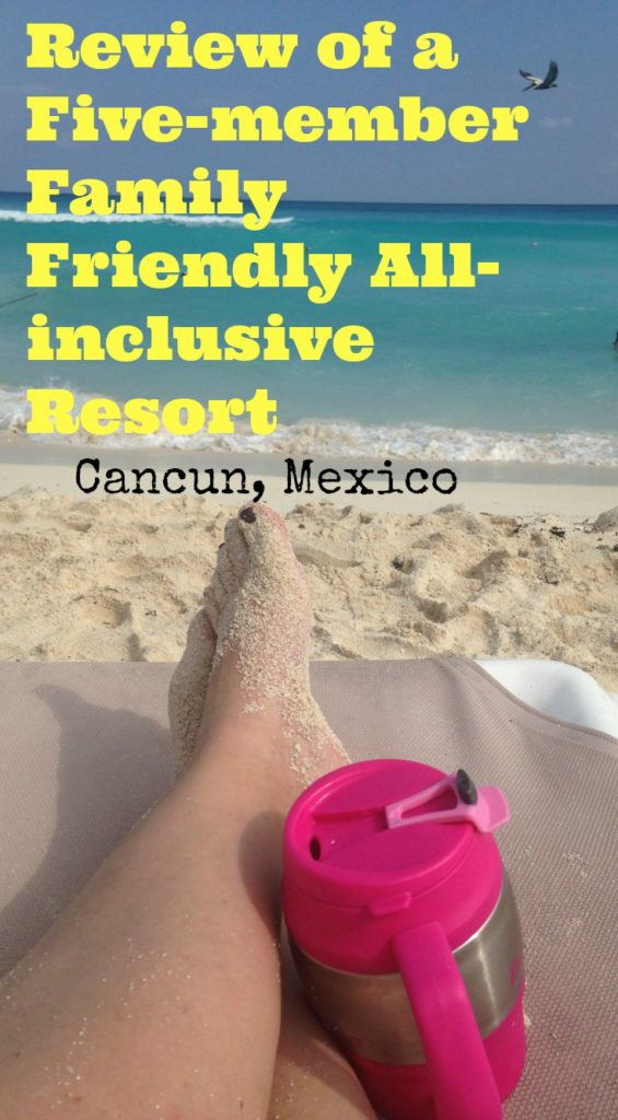 Review of a Five Member Friendly all Inclusive resort in Mexico. Mom relaxing on beach at Crown Paradise Club Cancun Mexico #familytravel #allinclusive #mexico #cancun #familyvacation #vacation #traveltips #travelblog #travelblogger #traveling #familytrip #getaway #beach
