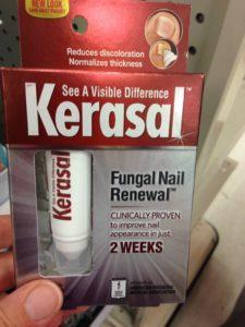 OTC nail treatment for ringworm