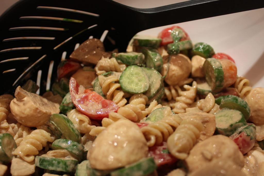Balsamic Veggie Pasta Salad