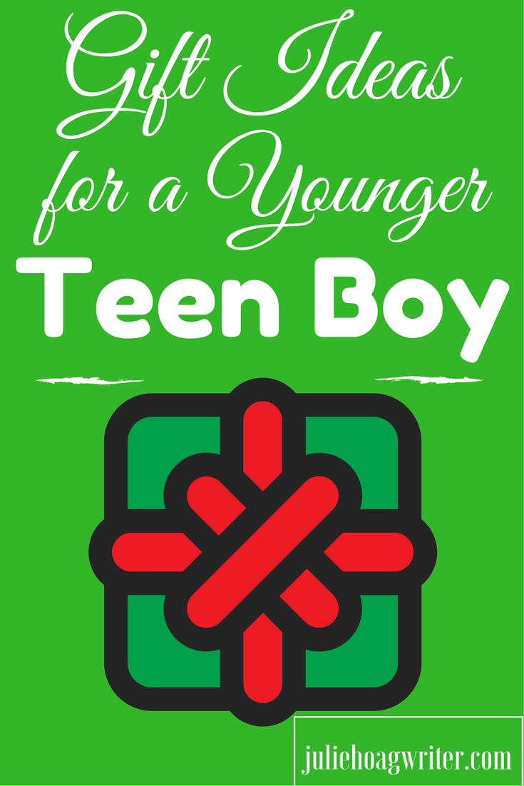 Gift Ideas for a Younger Teen Boy. Here is my list of ideas a younger teen boy would love! Gift Ideas Younger Teen Boy. #gifts #boymom #giftsforteens #teen #teens #teenager #christmasgifts #holidaygifts #whattobuyteenboys #giftideas #birthdaypresent #momofboys