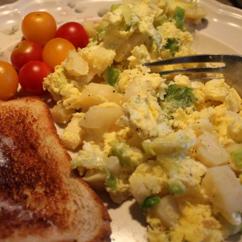 Quick Vegetable Mini Egg Bake