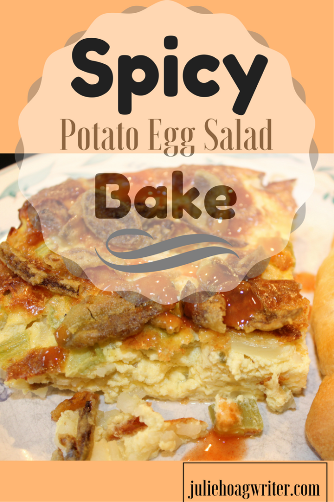 Spicy Potato Egg Salad Bake a spicy egg dish that combines egg salad and spicy eggs. breakfast ideas | breakfast casserole | breakfast recipes | egg bake recipes for a crowd | egg bake casserole | egg bake recipes | breakfast recipes for a crowd | egg bake with hashbrowns | egg bake healthy | eggs recipes | eggs breakfast | brunch ideas | brunch recipes | brunch ideas spicy | brunch recipes | vegetarian egg bake | vegetarian recipes | vegetarian egg bake casserole | vegetarian egg bake recipes | egg salad recipe for breakfast @juliehoagwriter.com
