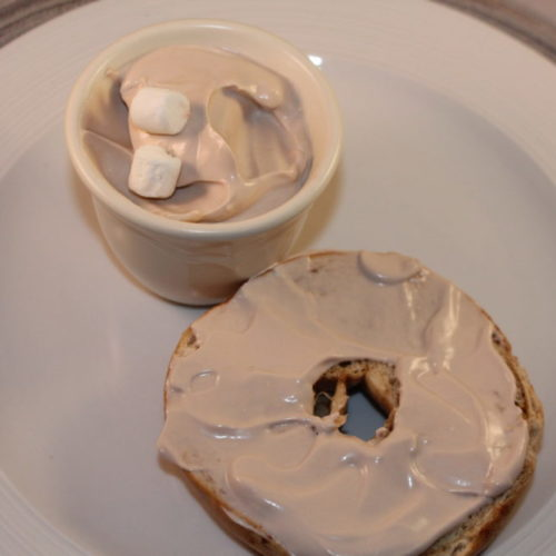 Whipped Hot Chocolate Cream Cheese