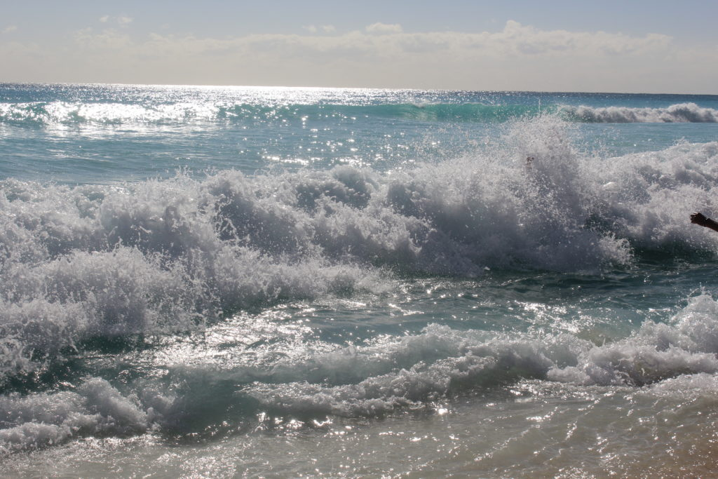 Gulf of Mexico ocean and waves
