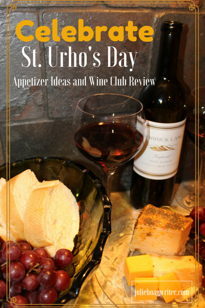 Celebrate St. Urho's Day with a Sensational Endorsed Wine Club Review and appetizers for the whole family including red grapes, Mediterranean Parmesan cheese, Wisconsin Cheddar Cheese, French Bread, and cucmber cheese appetizers. Celebrate St. Urho's day sensational endorsed wine club. Need an excuse to drink wine? St. Urho's Day is your answer. 21+ Enjoy! #wine #winewednesday #wineoclock #winery #cheese #californiawine #adult #sturhosday #finland #minnesota #minneapolis #foodblogger