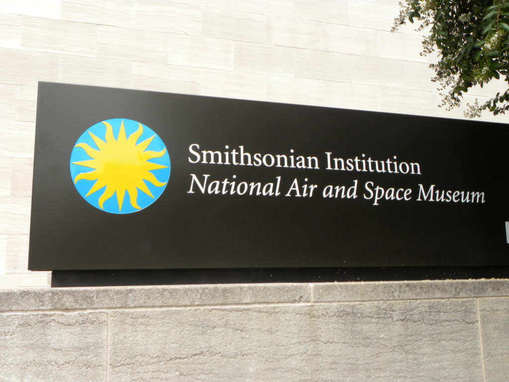 Smithsonian Institution Naritional Air and Space Museum in Washington D. C.