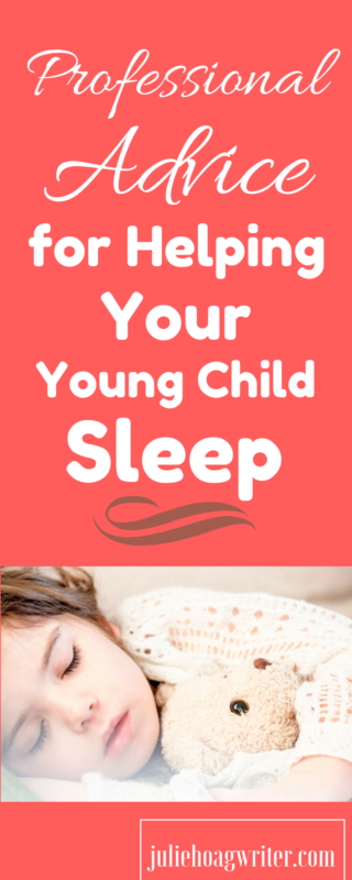 Professional advice and tips from a Sleep Consultant for helping your young child sleep.