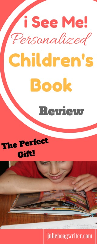 i See Me! Personalized children's book review the perfect gift for a child or baby using their name in the book