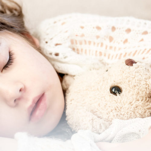 Sleeping child. Professional Advice for a Safe and Secure Sleep Time for Young Children