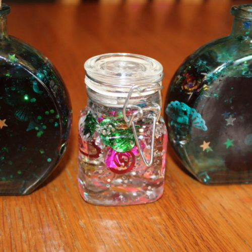DIY Kids Craft Spring Decoration Jar