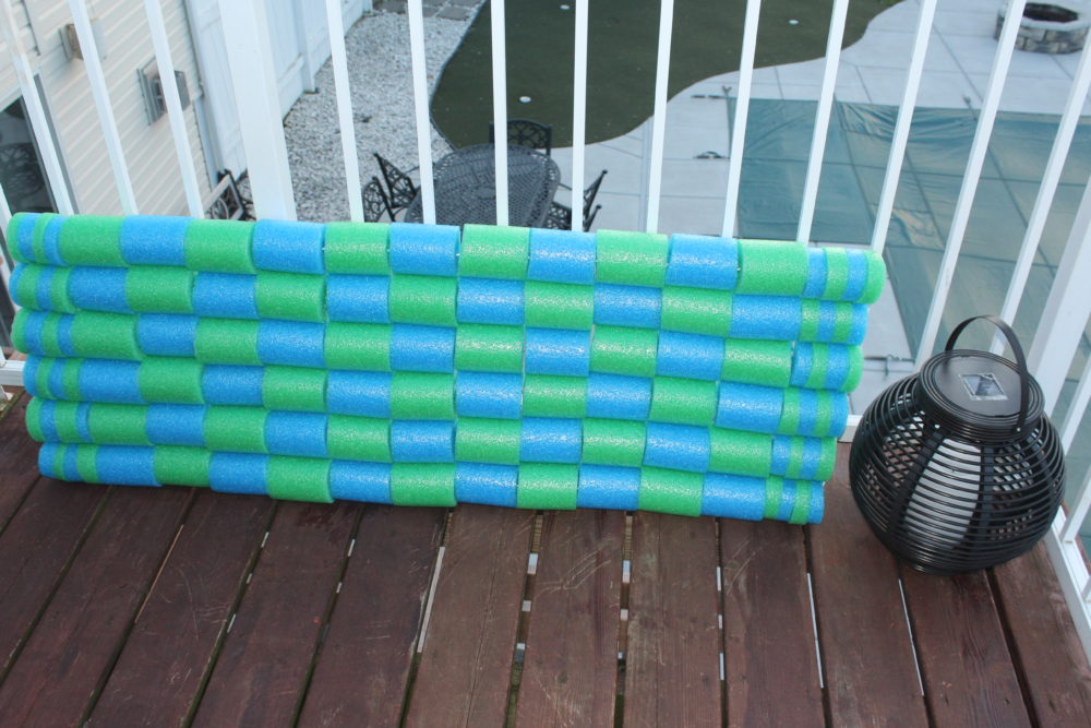 Diy Pool Noodle Float Raft A Family Lifestyle Amp Food Blog