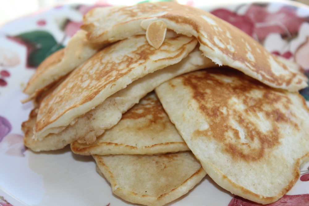 Easy Homemade Comfort Food Butter Pancakes Stack