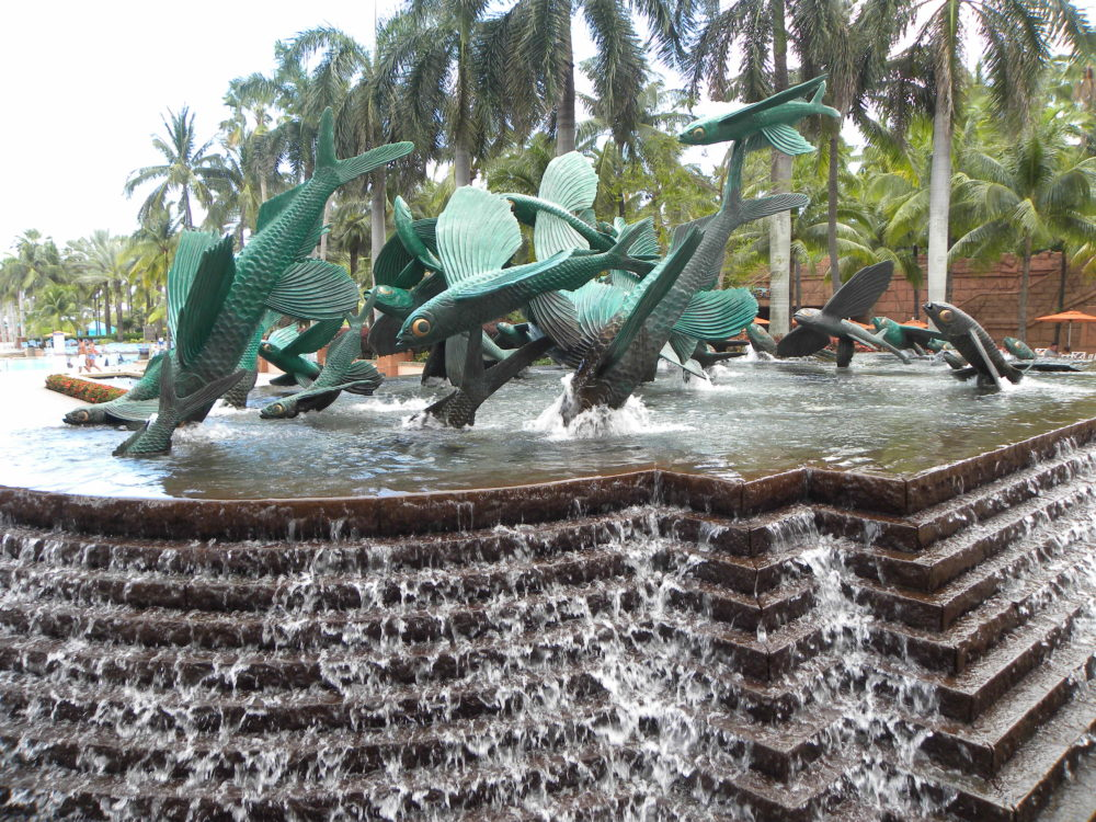 Fish Fountain at Atlantis