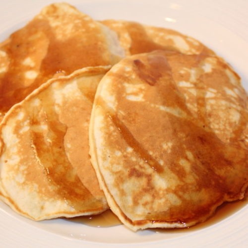 Easy Homemade Comfort Food Butter Pancakes