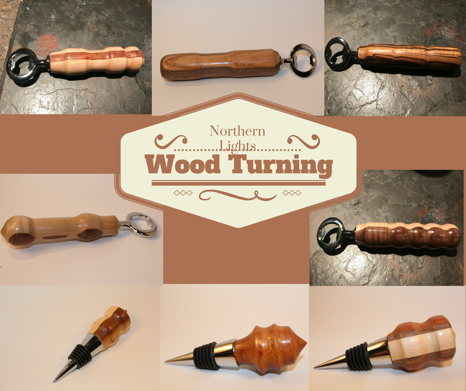 Northern Lights Wood Turning handcrafted wood pieces