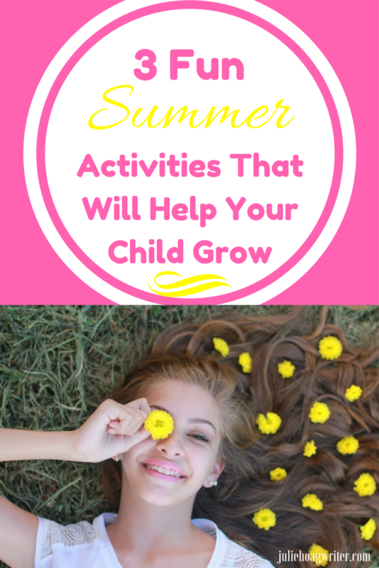3 Fun Summer Activities That Will Help Your Child Grow. summer activities for kids | summer learning for kids | summer learning activities | educational summer activities for kids | family | children learning activities | children summer activities learning | educate children | music | sports | foreign language | parenting tips for children | summer educational activities for kids | summer education for kids | summer education ideas @juliehoagwriter.com affiliate links