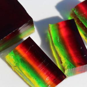 Fun Yummy Gummy Worms Jello pieces