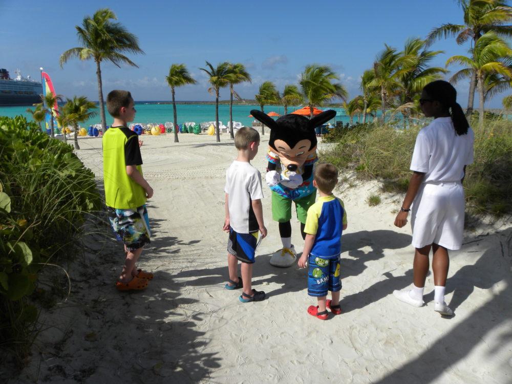 Family travel tips to Castaway Cay