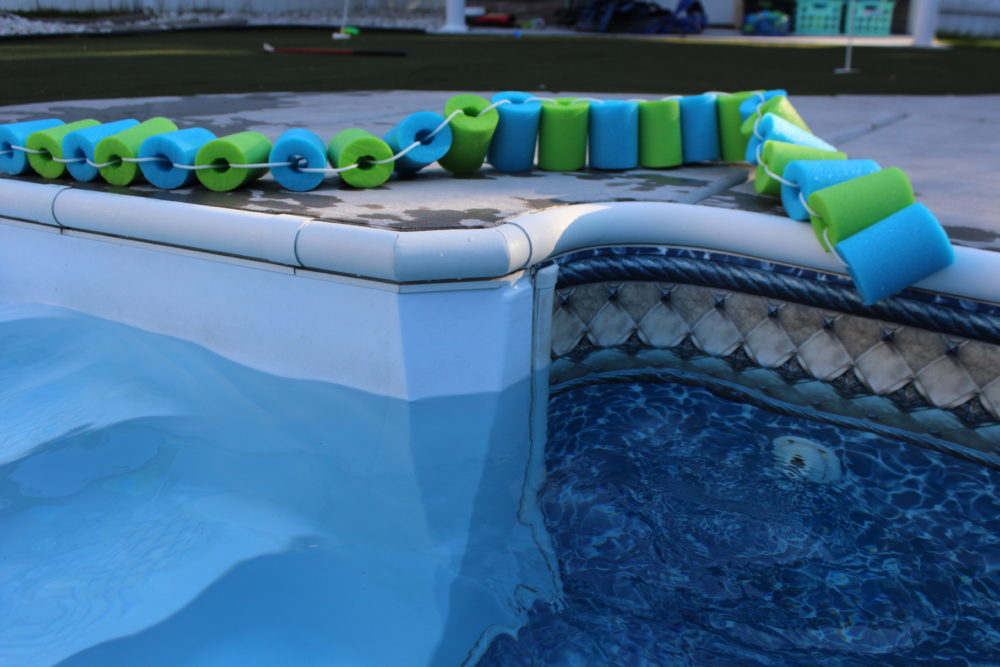 Moldable Pool Noodle Float Strip.