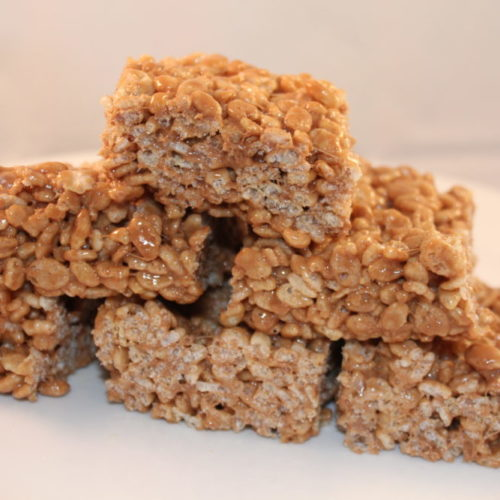 Nutella Rice Krispie Bars