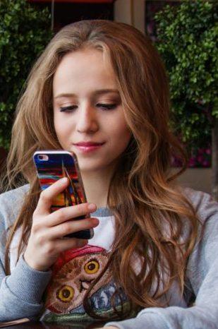 Tween with phone