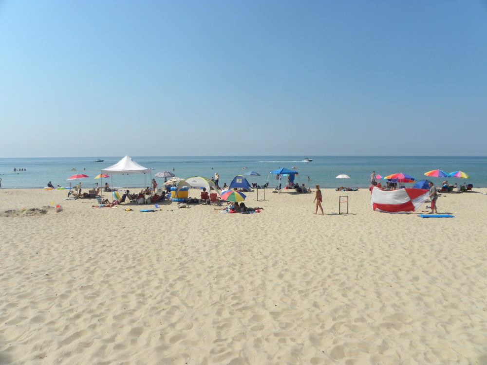 Lake Michigan White Sand Beach