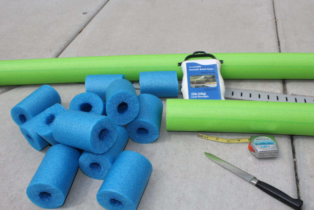 Diy Pool Noodle Fish Float With Headrest Julie Hoag Writer
