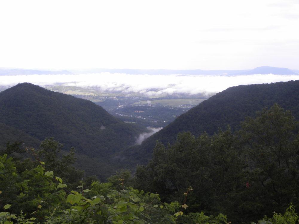 Valley below Buena Vista West Virginia