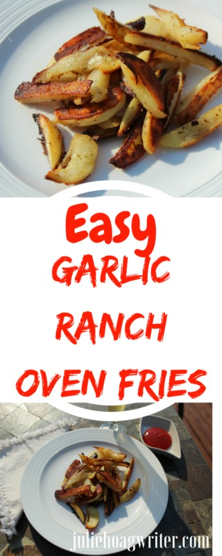 Easy Garlic Ranch Oven Fries family food recipe. A yummy potato recipe oven fries. Oven fries potatoes-oven fries crisp-oven fries recipe-ranch potatoes baked-ranch potatoes hidden valley #easyvegetarianrecipes #easysidedishes vegetarian recipes-easy potato recipes- oven fries potato wedges #familyfoodrecipes #easyvegetablesidedishes #appetizer