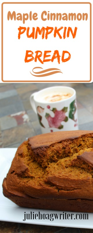 Maple Cinnamon Pumpkin Bread #pumpkinrecipes | fall-recipes | fall-bread-recipes | fall-breads-easy | fall-food-cinnamon-bread | cinnamon-bread-recipe | breakfast bread | maple-syrup-recipes | maple-bread | autumn-food | Thanksgiving-recipes #Thankgivingreicpes