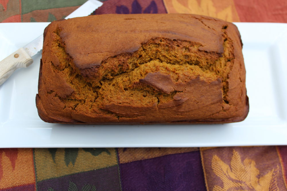 Maple Cinnamon Pumpkin Bread