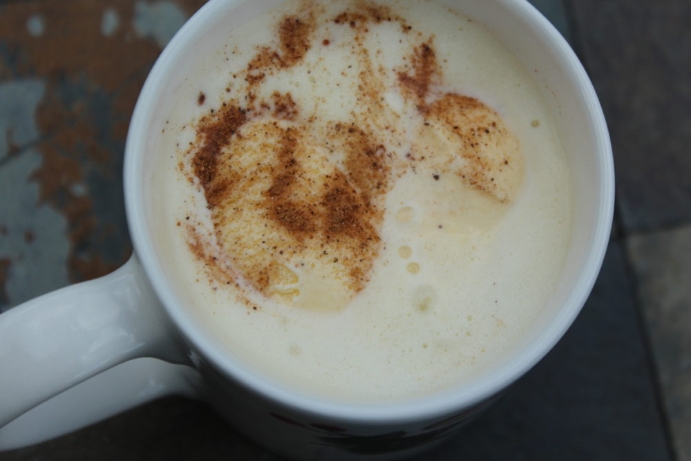 White Chai Tea Pumpkin Spice Latte