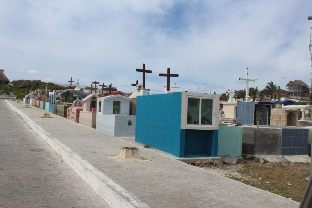 Cemetery at Isla Mujeres