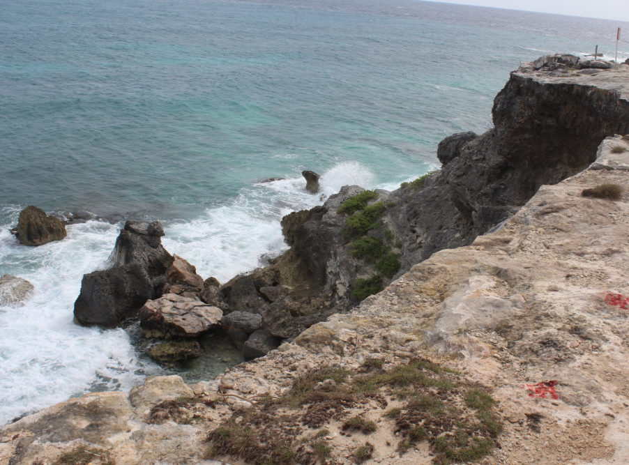 What you need to know about an excursion to Isla Mujeres Mexico with family and kids. Family travel. Tips for traveling to Isla Mujeres on an excusion. Golf cart rental. Sculpture garden. Ocean swimming. Kayaks.