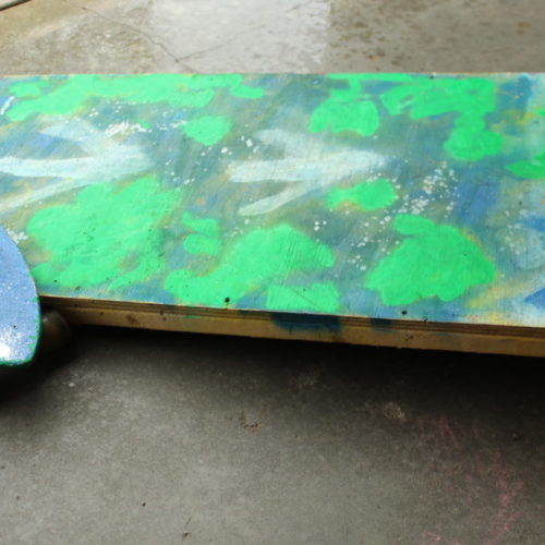 DIY Wooden Skateboard ramp. Fun woodworking projects for kids and parents to make together.