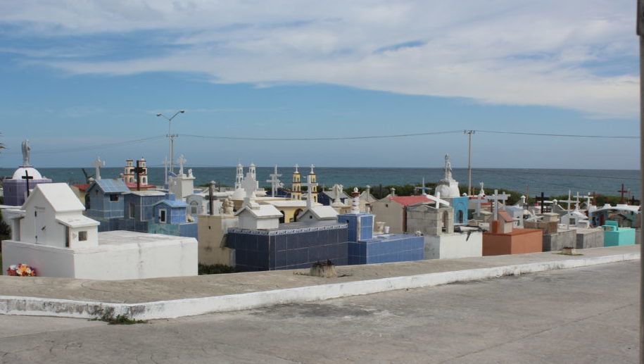 Cemetery at Isla Mujeres.