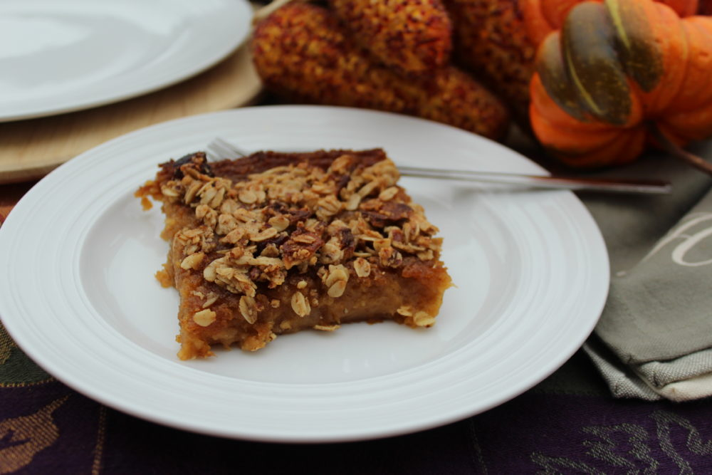 Try it, you'll love it! Instead of a pumpkin dessert, try butternut squash! Rich Decadent Butternut Squash Apple Bars are delish! Photo credit: Julie Hoag #fallrecipes #falldesserts #Thanksgivingrecipes